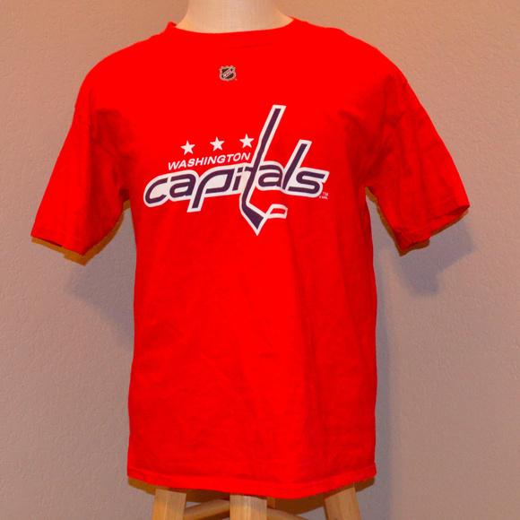 online retailer 38d53 d700b Washington Capitals Alex Ovechkin Shirt Red M Med